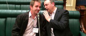 Steve Davis and Nigel Dobson-Keeffe