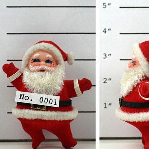 Santa and Christmas Pests