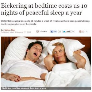 Bickering at night causes Bad PR