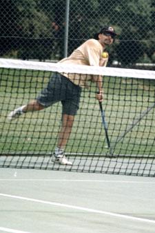 Steve Davis – Davis Cup Tennis Player