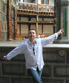 Steve Davis actor globe theatre London