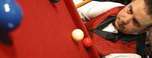 Steve Davis snooker champion