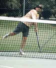 Steve Davis tennis davis cup