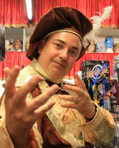 Who is Steve Davis comedian Adelaide