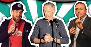 Learn stand up comedy in Adelaide with me, Glynn Nicholas, and Marc Ryan - December 2018 - School Of Hard Knock Knocks